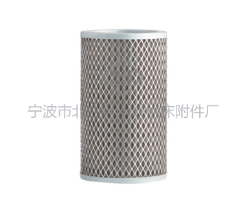 Self-sealing suction filter cartridge